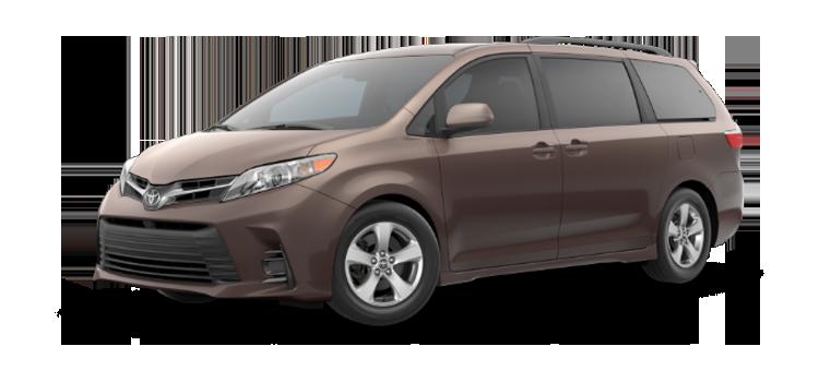 New 2019 Toyota Sienna 8 Passenger LE