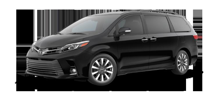 New 2019 Toyota Sienna 7 Passenger Limited Premium