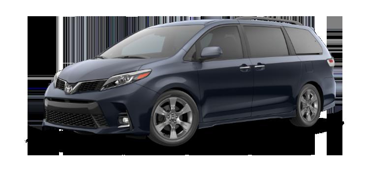 New 2019 Toyota Sienna 8 Passenger SE