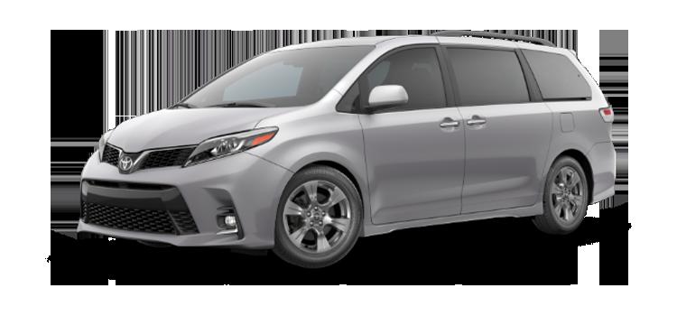 New 2019 Toyota Sienna 7 Passenger SE