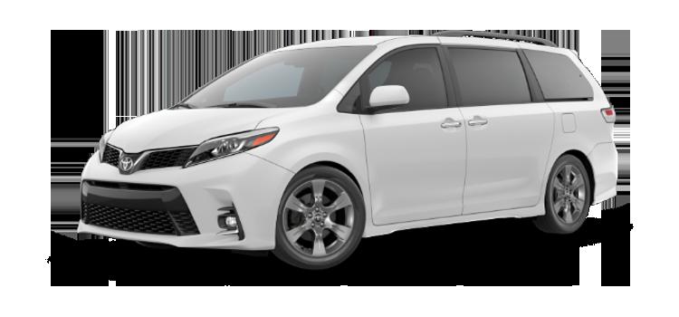 new 2019 Toyota Sienna 8 Passenger SE Premium