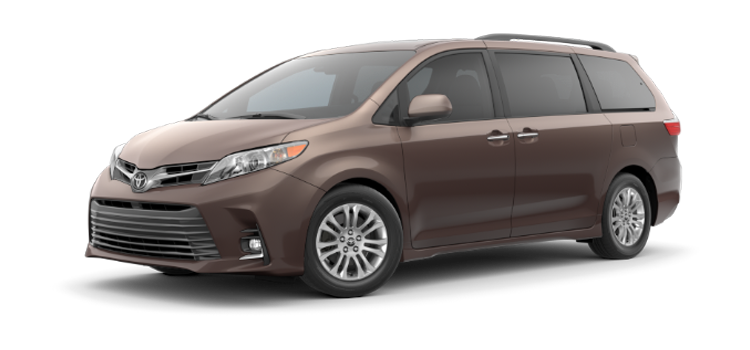 new 2019 Toyota Sienna 8 Passenger XLE