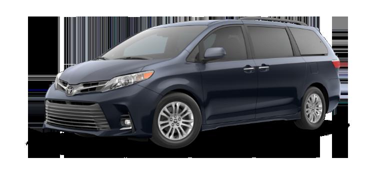 new 2019 Toyota Sienna 8 Passenger XLE Premium