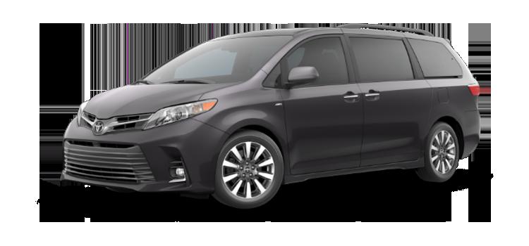 New 2019 Toyota Sienna 7 Passenger XLE Premium