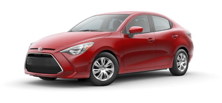 new 2019 Toyota Yaris Automatic L Sedan