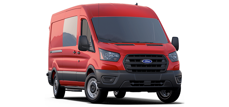 Buda Ford - 2020 Ford Transit Crew Van 148 WB Long 150 Medium Roof