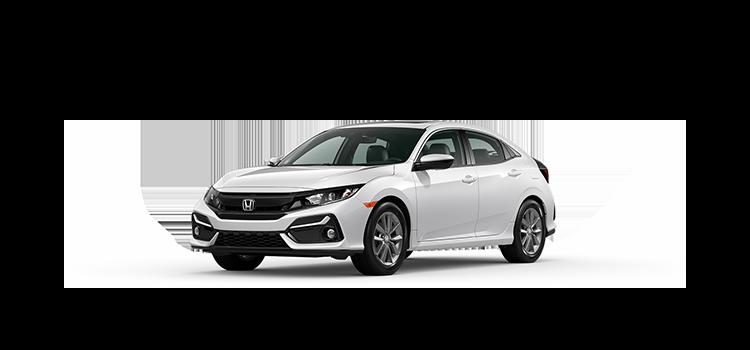 new 2020 Honda Civic Hatchback 1.5T L4 EX-L