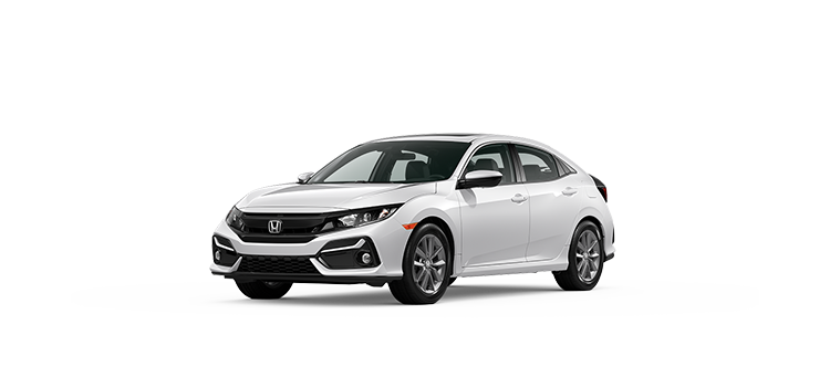 new 2020 Honda Civic Hatchback 1.5T L4 EX