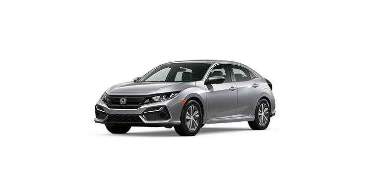new 2020 Honda Civic Hatchback 1.5T L4 LX