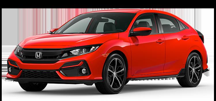 new 2020 Honda Civic Hatchback 1.5T L4 Sport