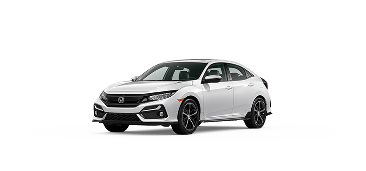 new 2020 Honda Civic Hatchback 1.5T L4 Sport Touring