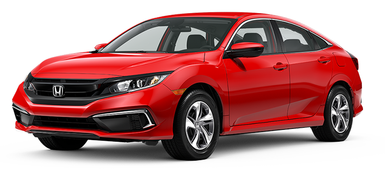 new 2020 Honda Civic Sedan 2.0 L4 LX CVT