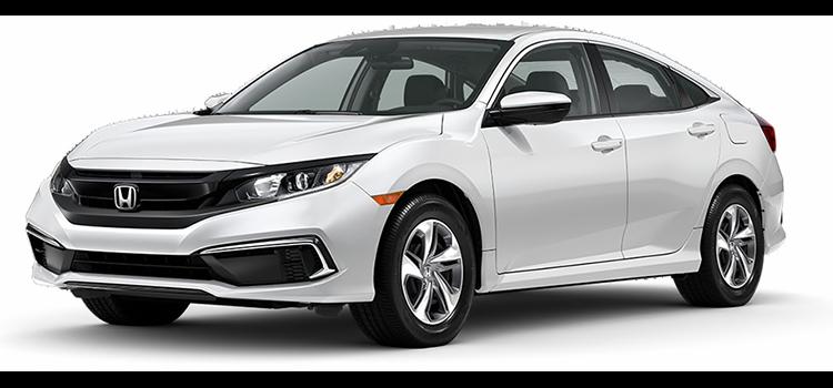 new 2020 Honda Civic Sedan 2.0 L4 LX CVT