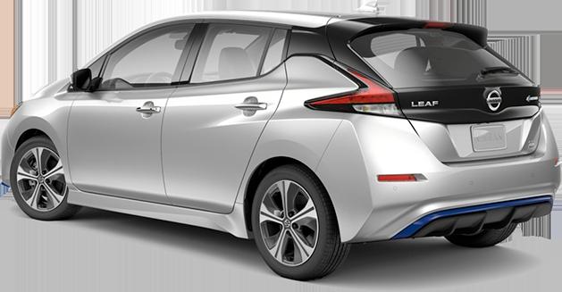new 2020 Nissan Leaf SL Plus