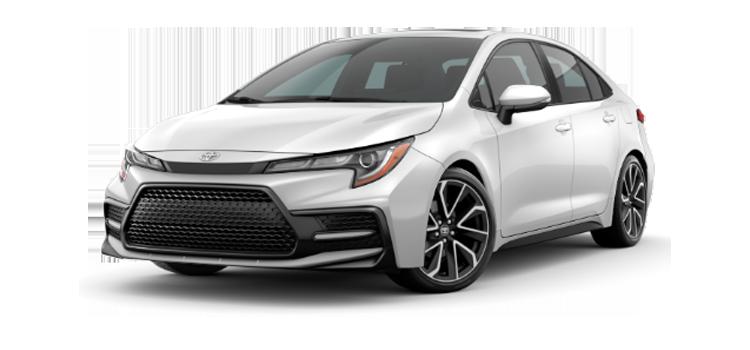 new 2020 Toyota Corolla XSE