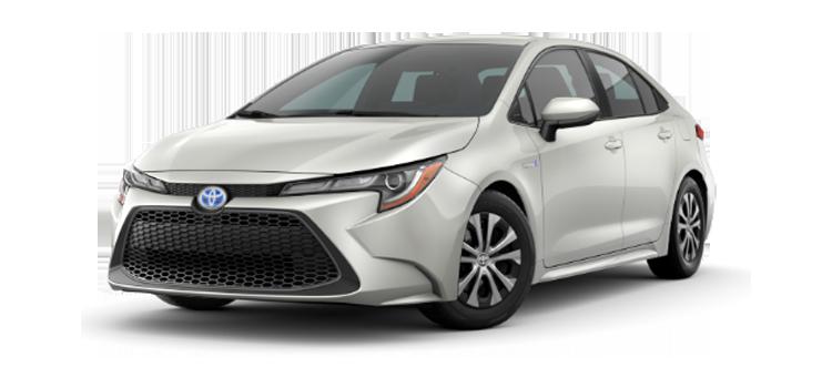 New 2020 Toyota Corolla Hybrid LE