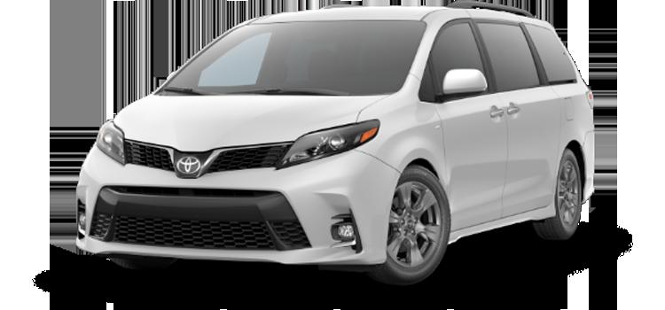 new 2020 Toyota Sienna 8 Passenger SE