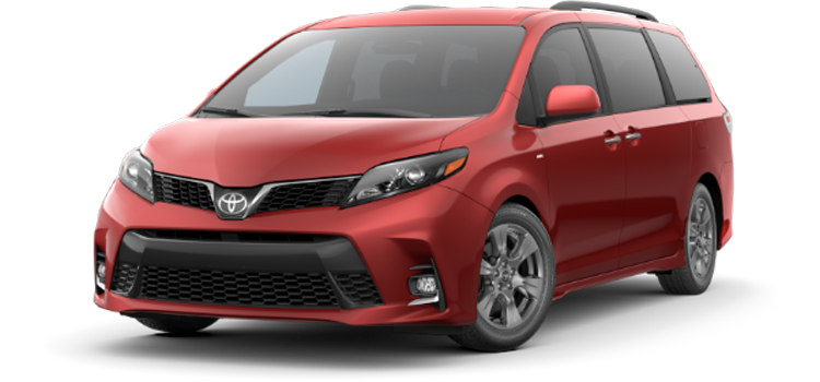 new 2020 Toyota Sienna 7 Passenger SE