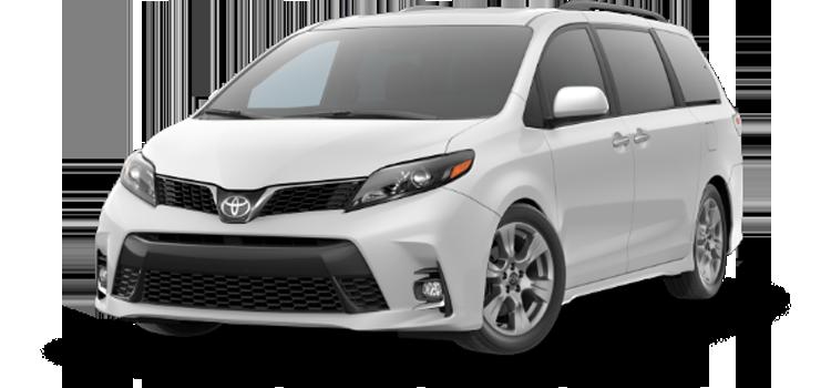 new 2020 Toyota Sienna 8 Passenger SE Premium