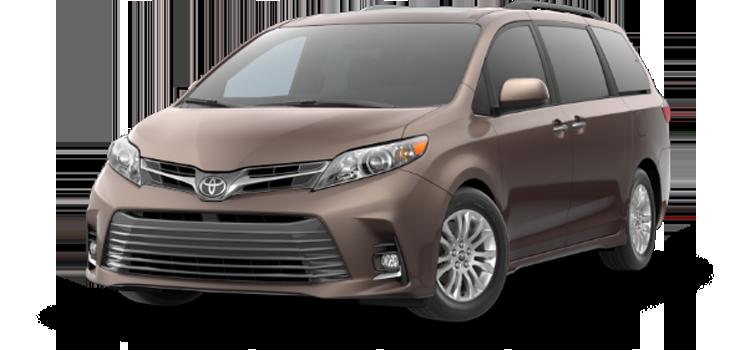 new 2020 Toyota Sienna 8 Passenger XLE