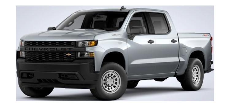 2021 Chevrolet Silverado 1500 Crew Cab