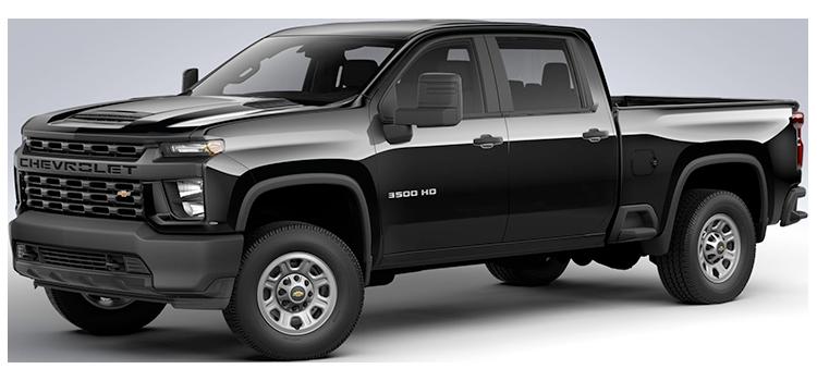 2021 Chevrolet Silverado 3500HD SRW Crew Cab