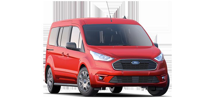 Round Rock Ford - 2021 Ford Transit Connect Wagon LWB (Rear Liftgate) XLT
