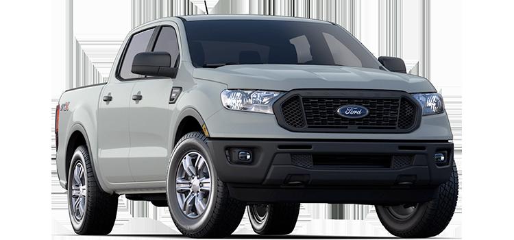 2021 Ford Ranger XL 2WD SuperCrew 5' Box