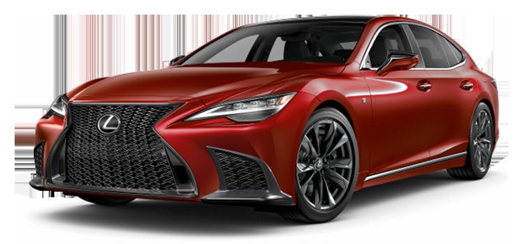 2021 Lexus Ls 500 Awd Ls 500 F Sport 4 Door Awd Sedan Colors