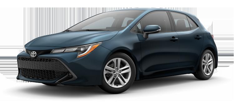 Toyota Custom Order 2021 Toyota Corolla Hatchback