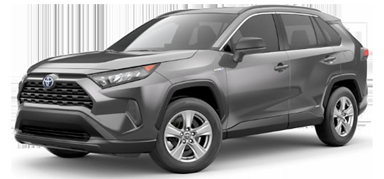 Toyota Custom Order 2021 Toyota RAV4 Hybrid