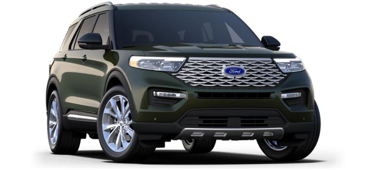 Ford Custom Order 2022 Ford Explorer